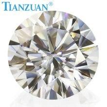 Новинка диаметром 8 мм бриллиантовый камень незакрепленный драгоценный