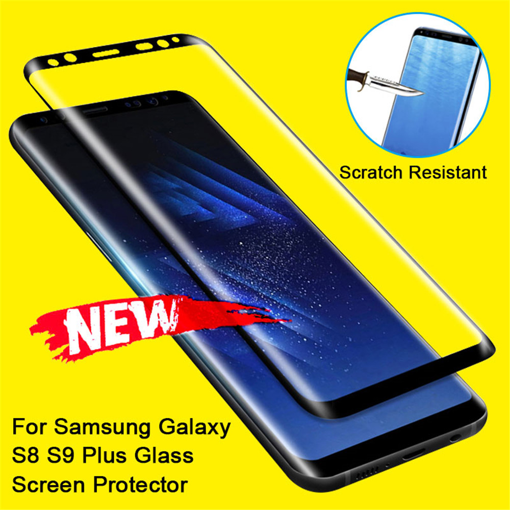 For Samsung S8 S9 Plus Film Glass For Samsung Galaxy S8 S9 Screen Protector S8 Plus Film Screen For Samsung Note 8 9 Glass Film