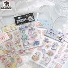 Diary Stickers Stationery Planner Scrapbooking Bullet Journal Mr.paper Cute-Series Deco