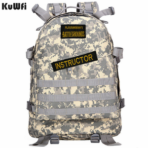 Image 1 - Playerunknowns Battlegrounds PUBG Winner Chicken Dinner Unisex Casual Backpack Multi functional Multicolor
