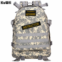 Playerunknown's Battlegrounds PUBG Winner Chicken Dinner Unisex Casual Backpack Multi functional Multicolor
