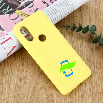 Silicone Case For Motorola Moto P40 Liquid Silicone Protective Cover For Moto One Vision P40 P30 Play Silky Soft-Touch Case
