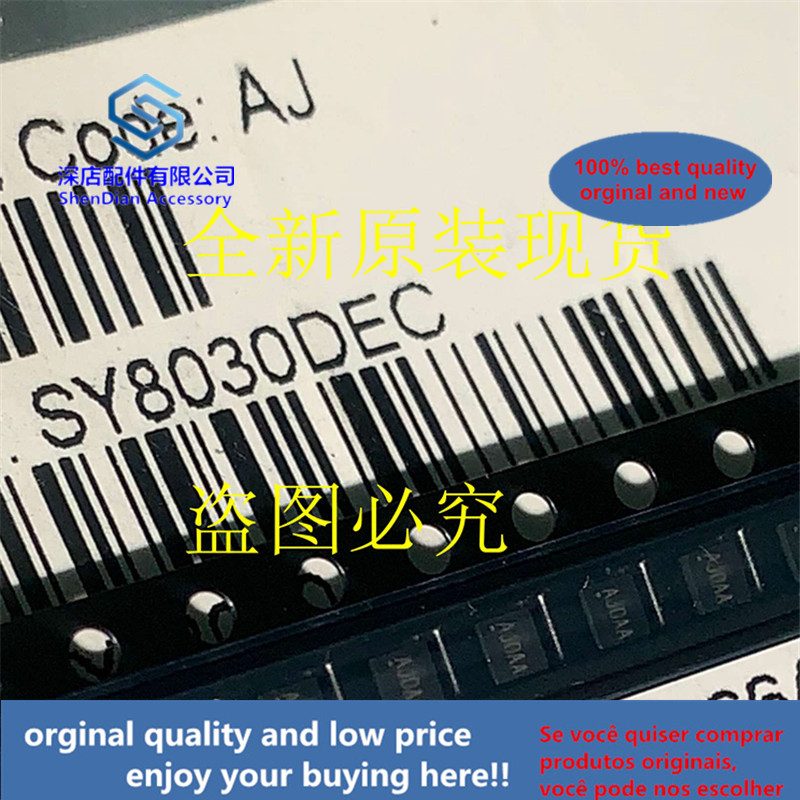 20pcs 100% Orginal And New SY8030DEC SILERGY DFN6 AJ0AA AJOAA Best Qualtiy