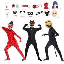 Sac à main pour femmes, Marinette Dupain-cheng, boucles d'oreilles, Costume de cosplay pour enfants, Adrien Agreste, chat Noir, anneau Noir, Tikki Plagg, 2021
