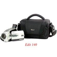 Lowepro Edit 110 Edit 140 Digital SLR Camera Triangle Shoulder Bag Rain Cover Portable Waist Case Holster For Canon Nikon