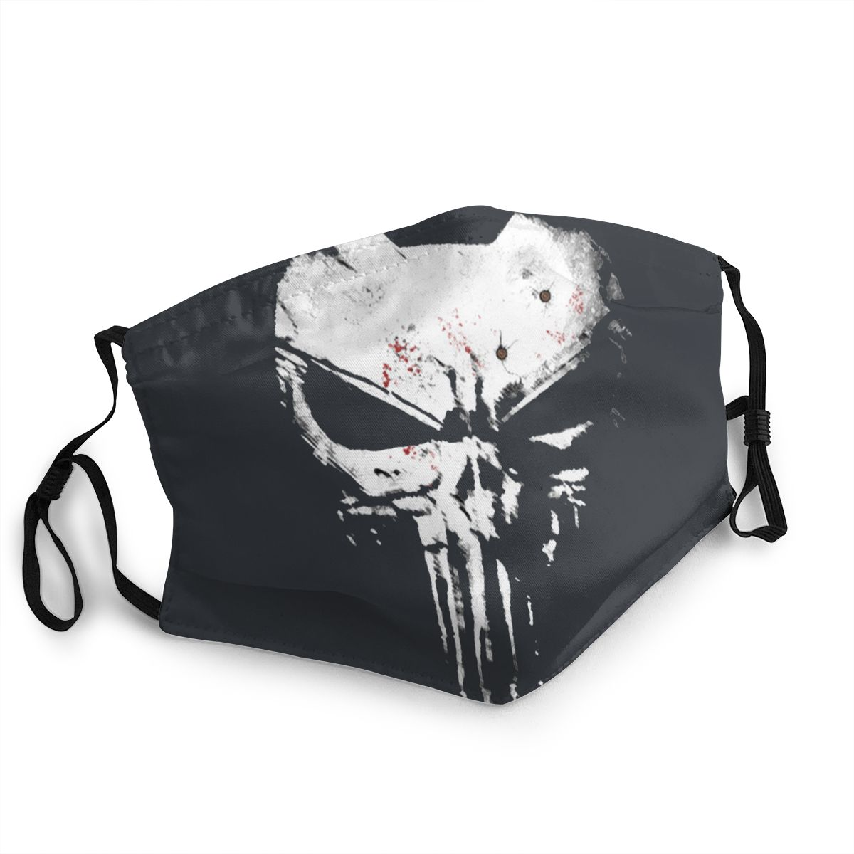 The Skull Punisher Adult Non-Disposable Mouth Face Mask Pattern Anti Haze Dust Protection Mask Respirator Mouth Muffle