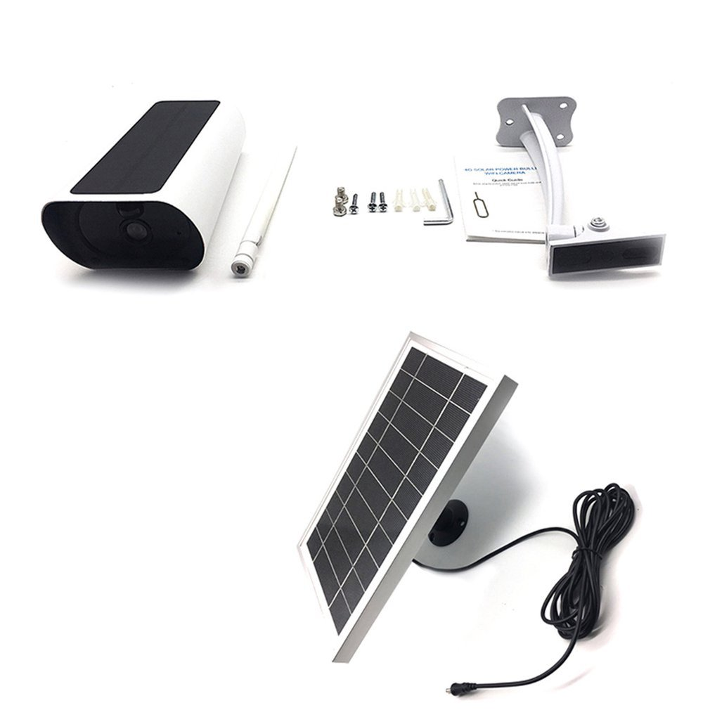 4G Solar Camera Low Power Security Surveillance Camera Indoor And Outdoor Remote Intelligent Network Camera with night vision