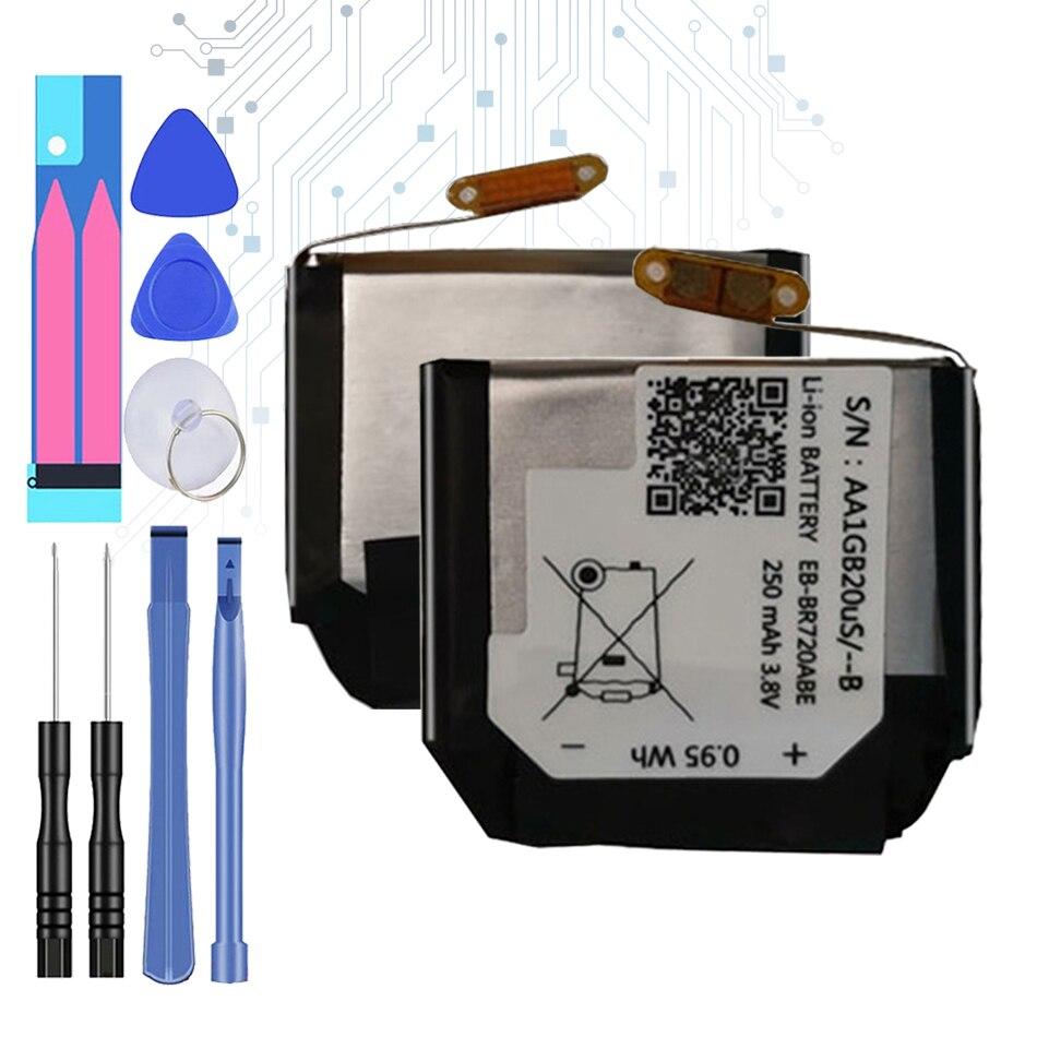 EB-BR720ABE 250mah bateria de substituição para samsung gear s2 s 2 classic r732 br720