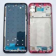 Moldura lcd para xiaomi redmi note 7, caixa de substituição original para celular parte