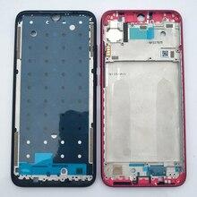 Xiaomi Redmi için Not 7 Orijinal Telefon Yeni Konut Çerçeve LCD Plaka Için Xiaomi Not 7 Orta Şasi Düğmeler Yedek parça