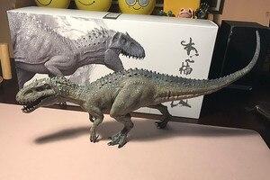 Image 3 - W magazynie! Nanmu 1:35 skala Bereserker Rex Model dinozaura rysunek kolekcjonerski wystrój prezent z oryginalnym pudełku z tworzywa sztucznego rzemiosła