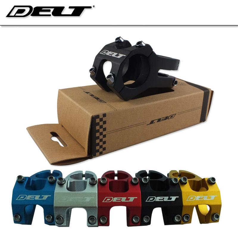1-1/8 MTB Mountain DH HR fixed gear bike Bicycle stem 31.8 X 40mm alloy 28.6MM Black Accessories