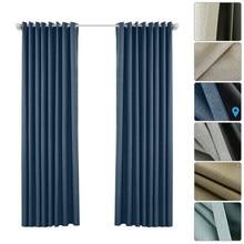 2 painéis blackout cortina para sala de estar decoração casa cortinas para o quarto grosso cortinas blackout janelas