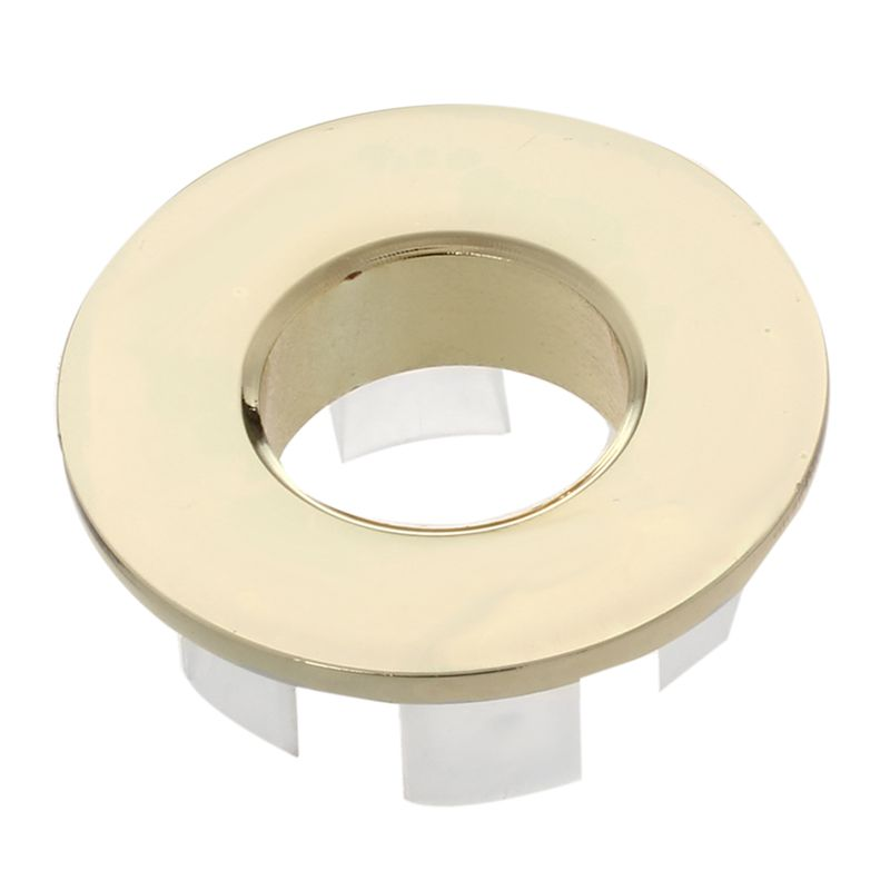 Top-New Design Bathroom Basin / Sink Overflow Cover/Brass Six-foot Ring Bathroom Product Basin Tidy Insert Replacement WF-0567 (