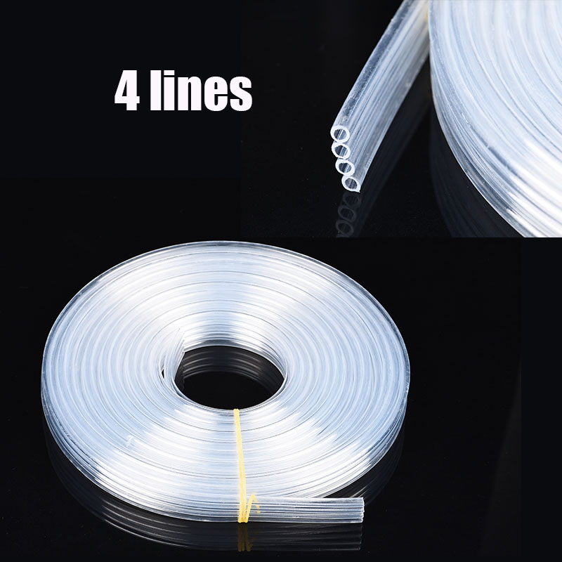 5 Meter Universal CISS Ink Tube DIY Kit Tank Line For Epson Canon HP Brother Printer Pipeline 4 lines 6 lines 8 lines(China)