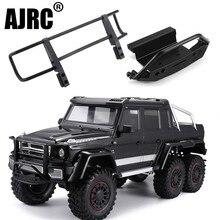 AJRC TRAXXAS TRX 4 G500 TRX 6 G63 metal CNC aluminum alloy front bumper stinger front bumper simulation climbing accessories