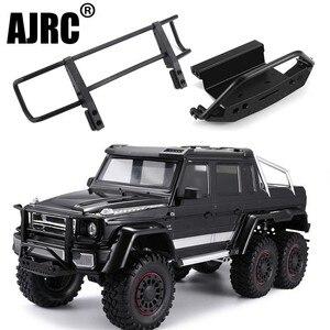 Image 1 - Ajrc Traxxas TRX 4 G500 TRX 6 G63 Metalen Cnc Aluminium Voorbumper Stinger Voorbumper Simulatie Klimmen Accessoires