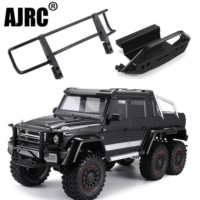 Ajrc Traxxas TRX 4 G500 TRX 6 G63 Metalen Cnc Aluminium Voorbumper Stinger Voorbumper Simulatie Klimmen Accessoires