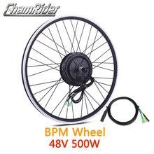 48v 500w kit de conversão bicicleta elétrica ebike bpm mx01c mx01f mx01r engrenado motor da roda mxus frente traseira cassete freehub