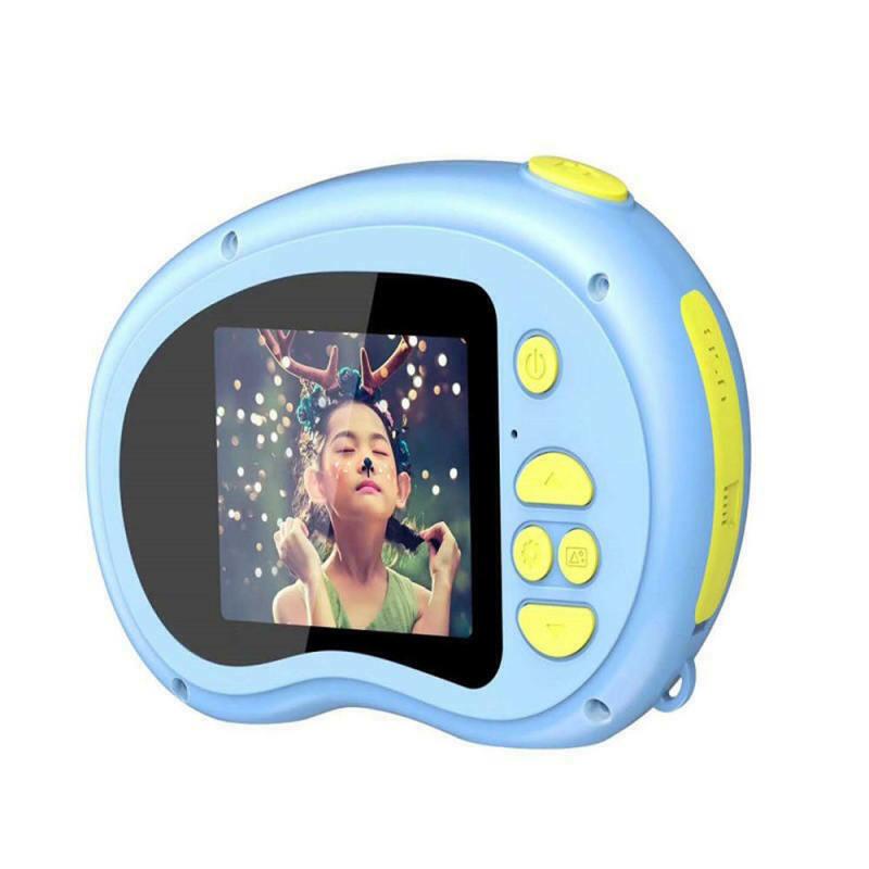 Kids Digital Camera 2.0 Inch Hd Screen 3Mp Anti-Shake Camcorder Children