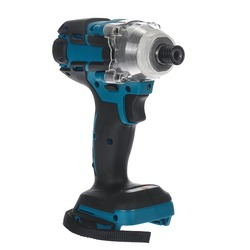 550 N.m Cordless Electric Screwdriver Speed Brushless Impact Wrench Rechargable with LED Light For Makita 18V Battery