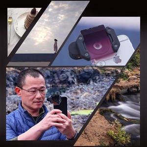Image 4 - NISI Prosories P1 Smartphone Lens Filter Holder Kit (Filter Holder+ Medium GND+ Polarizer) for iPhone X 8 S8 Scenery Photography