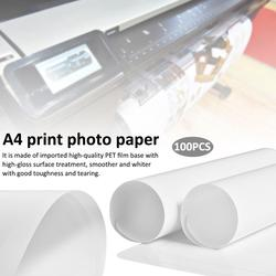 A4 RC Waterproof Tear-resistant Water-based Dye Pigment Inkjet Plastic PET Print Photo Paper Medical Film Photographic Paper
