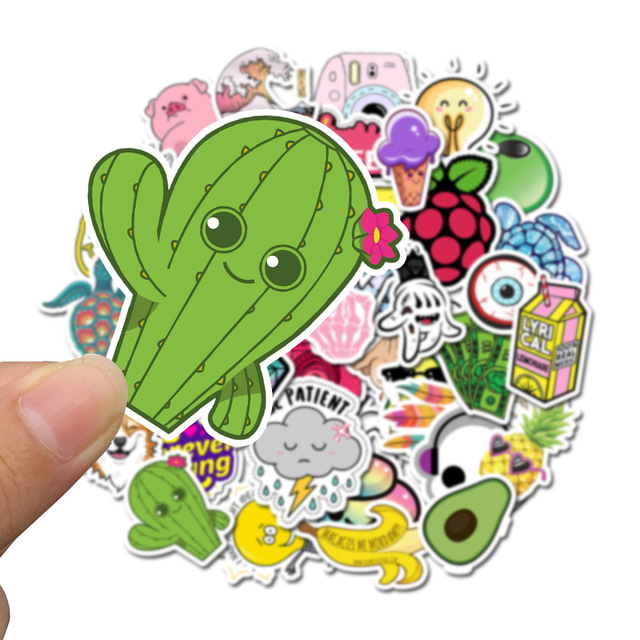 Cartoon stickers pack