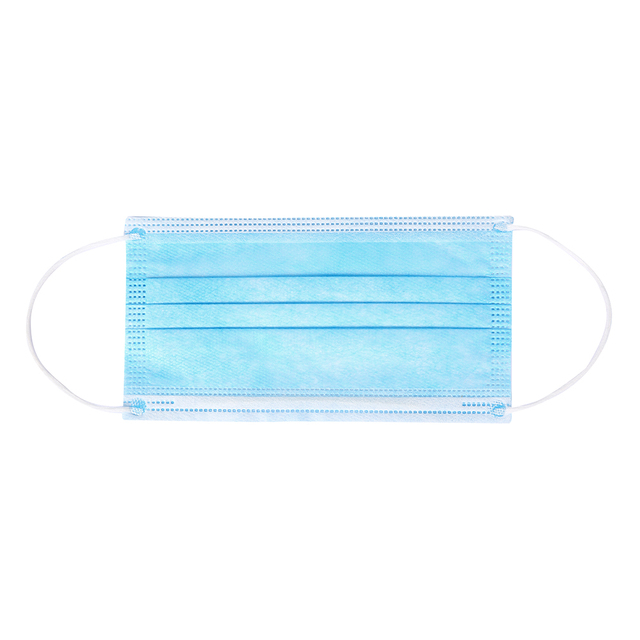 In stock! 20/40/60/100PCS Non Woven Disposable Face Mask 3 Layers Anti-Dust Face Masks Ear loop Mouth Mask 4