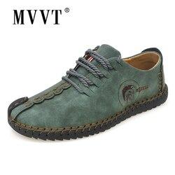 الكلاسيكية مريحة الرجال حذاء كاجوال المتسكعون حذاء رجالي جودة انقسام أحذية من الجلد الرجال الشقق رائجة البيع الأخفاف أحذية حجم كبير