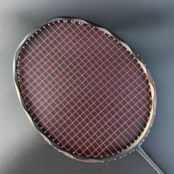 4U 100% カーボンバドミントンラケットプロ 28-30lbs G5 超軽量攻勢バドミントンラケットラケットトレーニングスポーツ