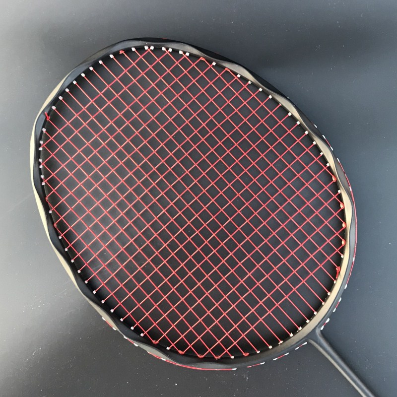 4U 100% Carbon Badminton Racket Professional 28-30lbs G5 Ultralight Offensive Badminton Racket Racquet Training Sports
