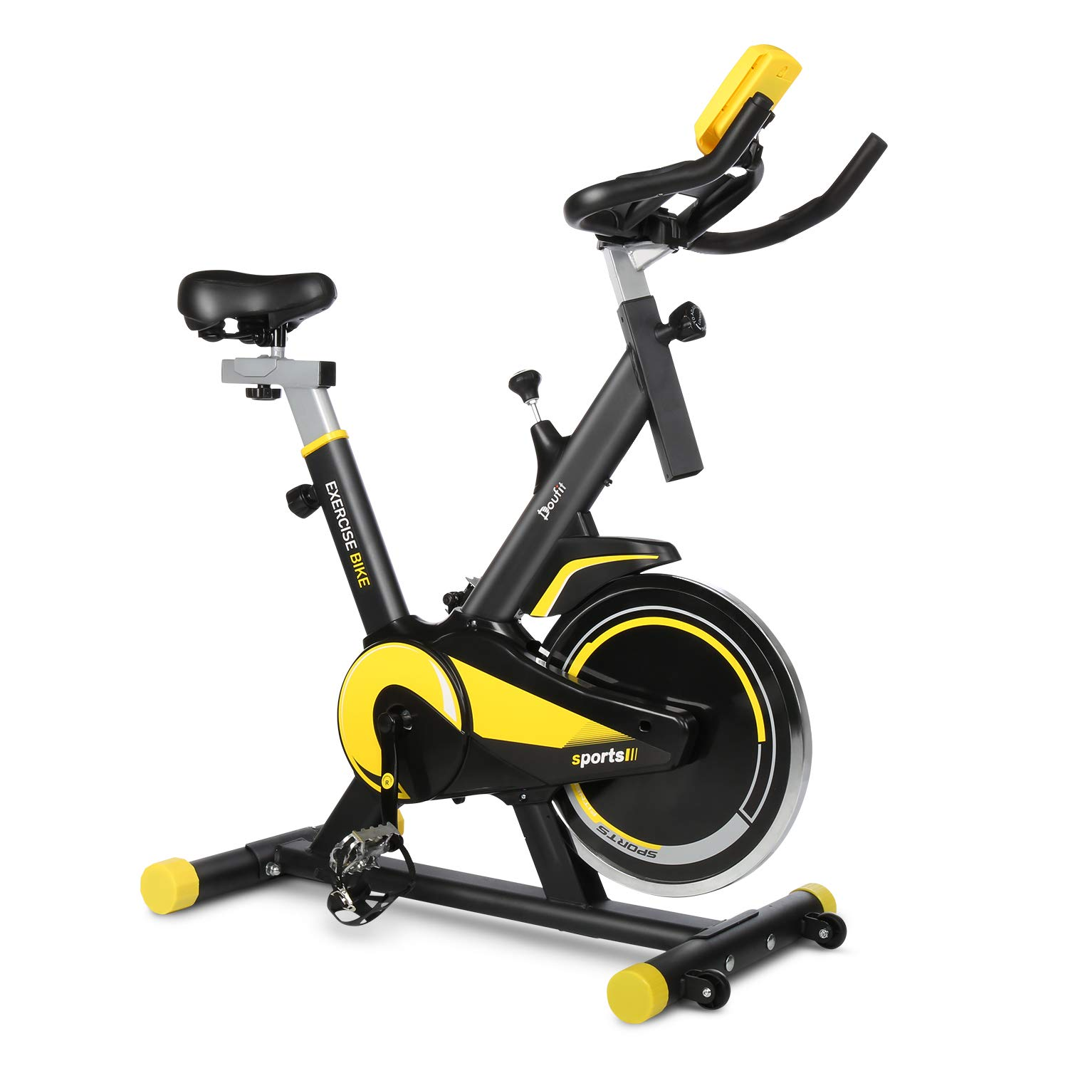 Permalink to Doufit Indoor Cycling Exercise Bike Weight Loss Machine Aerobic 13KG Flywheel Home Gym Fitness Equipment Max Weight 264 Lbs