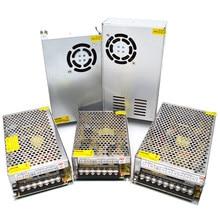 Fonte de alimentação 12 v 24 v ac adaptador 1a 2a 3a 5a 10a 20a 30a 40a transformador 220v a 12 volts 24 volts 36 volts fonte de alimentação smps fonte
