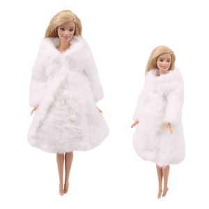 Image 4 - 15 نوع جودة عالية الملابس المصنوعة يدويا فساتين ينمو الزي الفانيلا معطف لفستان دمية باربي للفتيات أفضل هدية