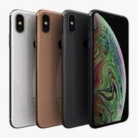 Apple iPhone XS Max Mobile Phone 6.5inch A12 Bionic 4GB RAM 64GB/256GB ROM Hexa Core 12MP NFC 4G LTE Original iOS Cellphone 2