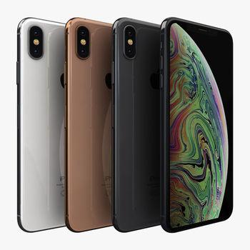 Apple iPhone XS Max A12 Bionic Mobile Phone 6.5inch 4GB RAM 64GB/256GB ROM Hexa Core 12MP NFC 4G LTE Original iOS Cellphone 2