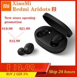 NEW Xiaomi Redmi Airdots 2 Mi True Wireless Bluetooth 5.0 TWS Earphone Gaming Headset Left Right Low Lag Mode Stereo Auto Link