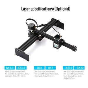 Image 2 - UE 20W 405nm/445nm del Laser di CNC Incisione Del Desktop Ad Alta Velocità Laser Incisore Stampante Domestica di Arte Del Mestiere Incisione FAI DA TE taglierina