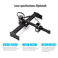 VG L7 405nm/445nm US Plug 2.3W CNC Mini Desktop Laser Engraver Household Art Craft DIY Laser Engraving Cutter for Wood Plastic