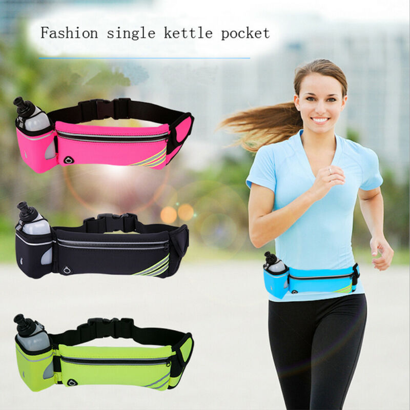 Running Kettle Bag Sports Pack Pouch Travel Waist Belt Money Holiday Pocket Kettle Bag Women Men Sport Waist Packs Belt Bags