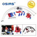 Универсальный регулятор давления топлива OSIAS  универсальный регулятор давления топлива всех цветов 100x кПа 160psi с манометром + шланг топливно...