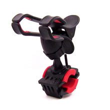 QPQLK Universal Bike Phone Holder, Bicycle  Stroller Mount for Cell GPS, 360 Degrees Rotating