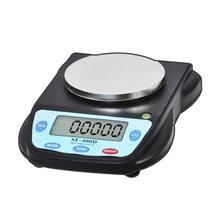 Цифровые весы, лабораторная Электроника, аналитический баланс, 500 г/0,01 г, черный