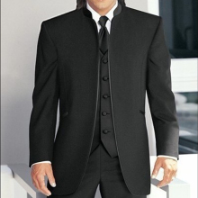 Tuxedos Jacket Fashion-Set Tailor-Made Pants Groom Wedding-Groomsmen-Suits 3piece