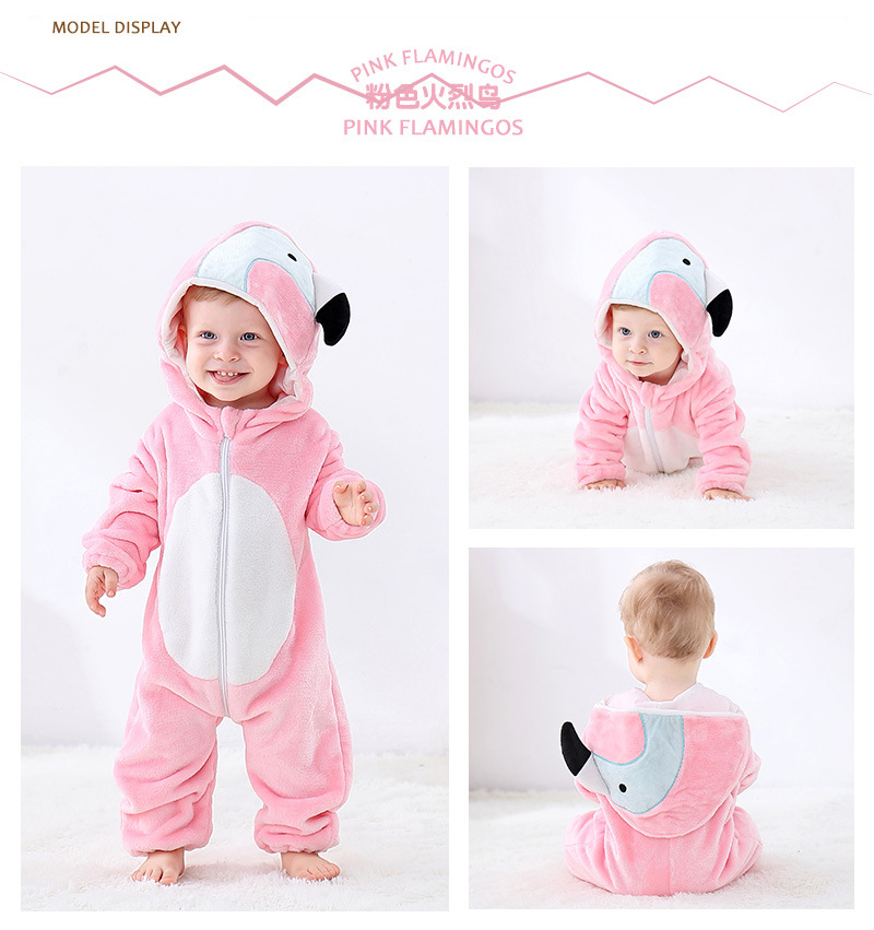 H5c1494e006784d388a3d6a769b3b5f175 2019 Infant Romper Baby Boys Girls Jumpsuit New born Bebe Clothing Hooded Toddler Baby Clothes Cute Panda Romper Baby Costumes