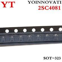 100 pçs/lote 2SC4081 2SC4081-R 2SC4081T106R SOT-323 Marcação BR IC