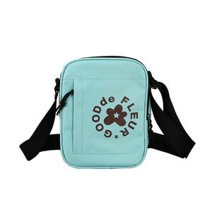 Брендовая новая популярная сумка через плечо с синим лицом Tyler The Creator Golf Le Fleur, поясная сумка на бедрах 23*18 см #001