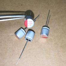 10 шт. 6,3 V 1000 мкФ 8x8 сплошной алюминиевый электролитический конденсатор с алюминиевой крышкой для материнская плата компьютера видео карта/видеокарта