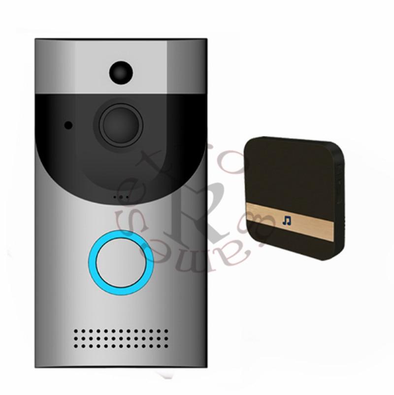 Waterproof Door Bell Camera B30 WIFI Video Doorbell 720P Smart Night Vision PIR IP Camera Battery Power Or 8v-24v Charger